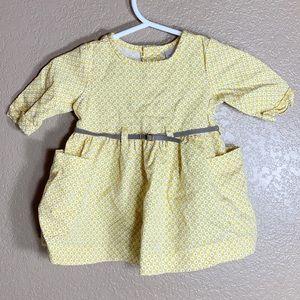 Carters baby girl yellow dress